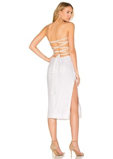 MILLY Addison Dress in White. - size 8 (also in 4,6)