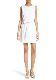 Milly Ana Stretch Poplin A-line Dress