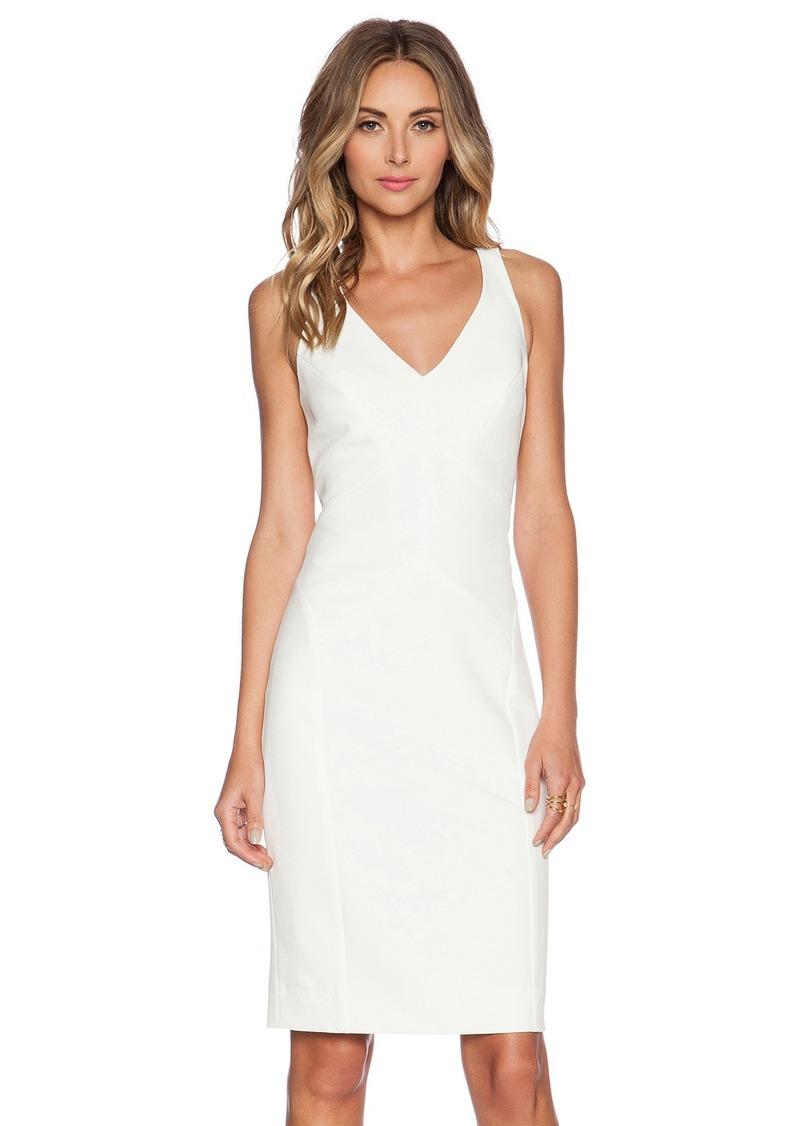 MILLY Angular Midi Dress