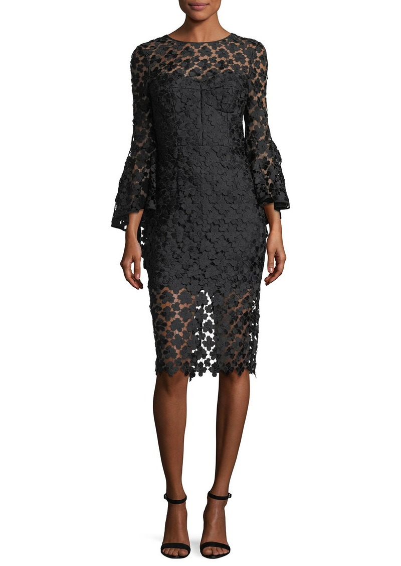Milly Milly Anya Floral-Embroidered Lace Cocktail Dress | Dresses ...
