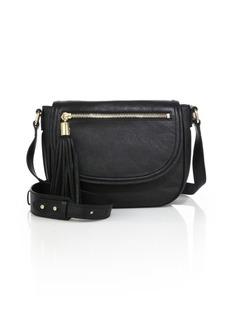 Milly Astor Leather Saddle Bag