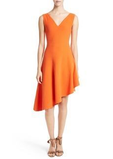 Milly Asymmetrical A-Line Dress