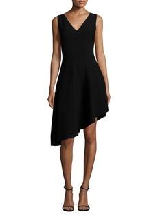 MILLY Asymmetrical Hem Dress