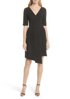 Milly Asymmetrical Sheath Dress