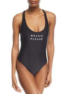 Milly Beach Please One-Piece Swimsuit