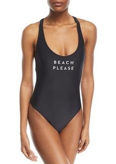 Milly Beach Please One-Piece Swimsuit