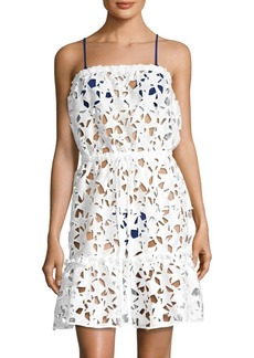 Milly Becca Star Embroidered Cover Up