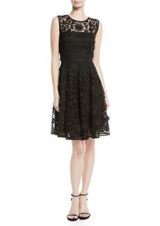 Milly Becky 3D Lace A-Line Dress