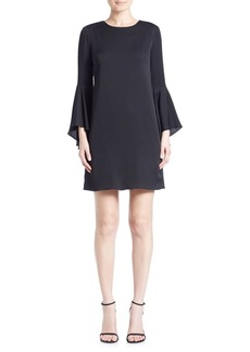 Milly Bell Sleeve Shift Dress
