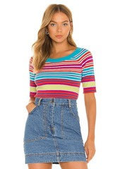 MILLY Boat Neck Top