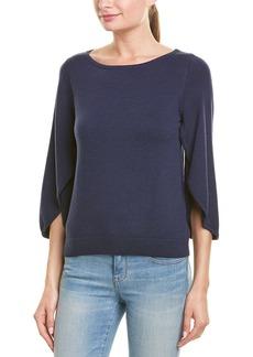 Milly Butterfly Sleeve Wool-Blend Sweater