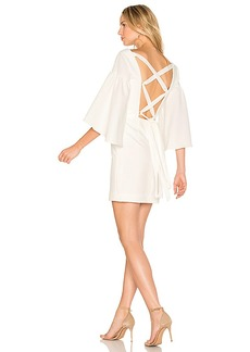 MILLY Cady Bell Dress in White. - size 2 (also in 4,6)