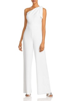 MILLY Cady Caroline One-Shoulder Jumpsuit