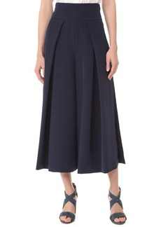 Milly Cady Cropped Slit Culottes