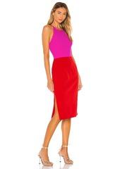MILLY Cady Layla Combo Dress