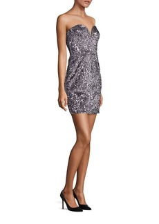 MILLY Carly Sequin Mini Dress