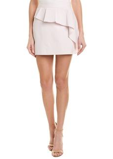 Milly Cascade Ruffle Mini Skirt
