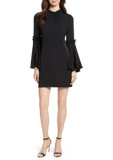 Milly Cassie Bell Sleeve A-Line Dress