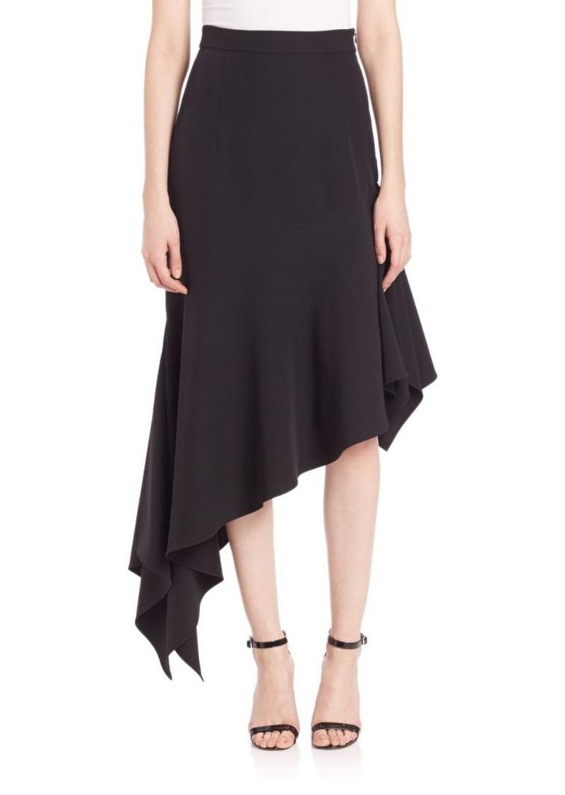 MILLY Charlotte Asymmetrical Skirt