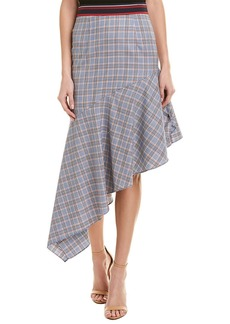 Milly Charlotte Wool Skirt