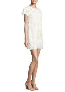 MILLY Chloe Embroidered Lace Dress