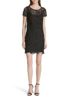 Milly Chloe Lace Shift Dress