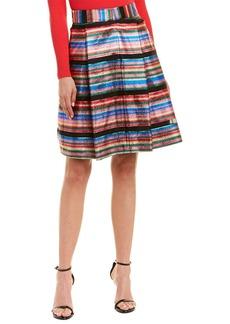 Milly Clarissa Silk-Blend Skirt