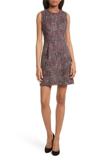 Milly Coco A-Line Tweed Dress