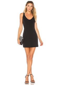 MILLY Cora Mini Dress in Black. - size 0 (also in 2,4,6)