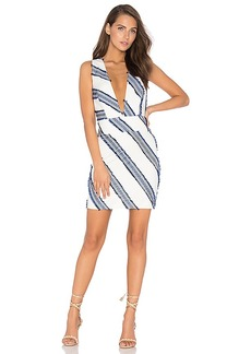 MILLY Cross Back Dress in Blue. - size 2 (also in 0,8)