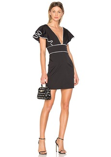 MILLY Deni Dress in Black. - size 0 (also in 2,6)