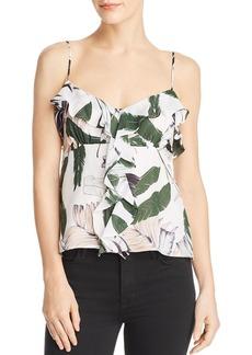 MILLY Emilia Silk Camisole Top
