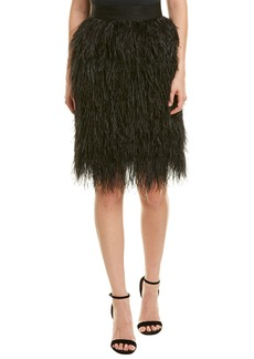 Milly Feather Skirt