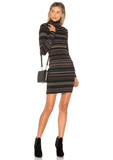 MILLY Fitted Dress in Black. - size L (also in M,S,XS)