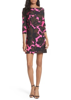 Milly Floral Print Minidress