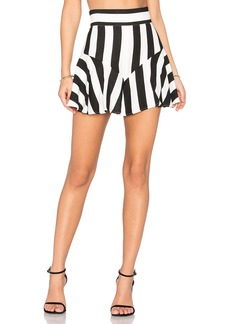 MILLY Flutter Culotte Shorts