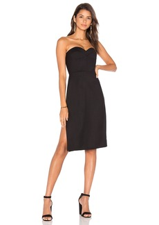 MILLY Gabardine Alix Dress