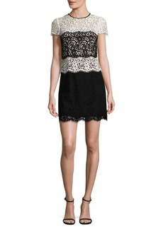 MILLY Gabrielle Lace Dress