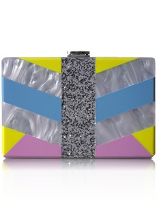 MILLY Geo Square Box Clutch