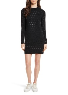 Milly Geometric Gem Sweater Dress
