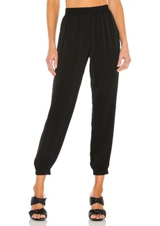 MILLY Harriet Viscose Crepe Pant