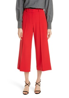 Milly Hayden Italian Cady Crop Pants