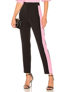 MILLY High Waist Side Combo Skinny Pant