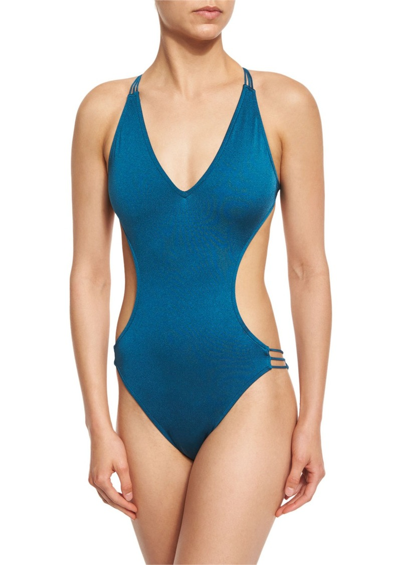 Milly Hvar Italian Monokini One-Piece Swimsuit