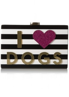 MILLY I Heart Cats/Dogs Box Clutch