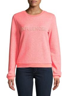 Milly Influencer Pearl Sweatshirt