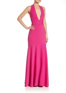 MILLY Italian Cady Penelope Gown