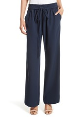 Milly Italian Cady Track Pants