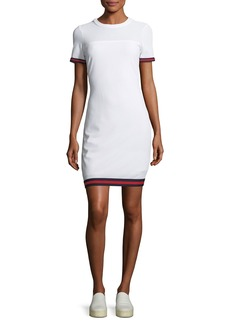 Milly Italian Mesh T-Shirt Dress