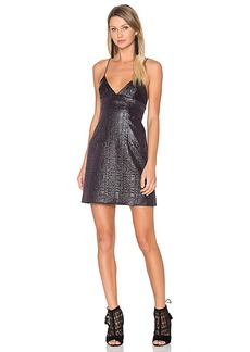MILLY Jacquard Julia Dress in Black. - size 0 (also in 2,4,6)